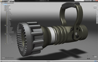 Интерфейс Autodesk Inventor Fusion