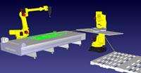 Интеграция работы с роботами