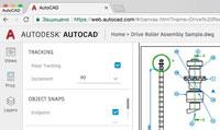 Интерфейс WEB – версии AutoCAD