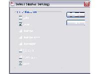 Настройка свойств отбора Select Similar