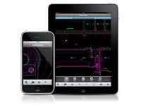 Меню приложения AutoCAD WS в AutoCAD LT 2012