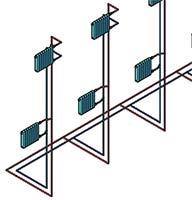 Project StudioCS Отопление Фрагмент схемы системы отопления