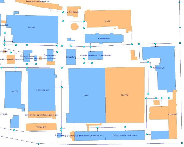 Схема водоснабжения